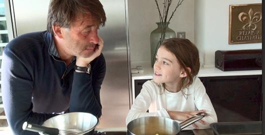 Moelleux au chocolat avec Carla 9 ans