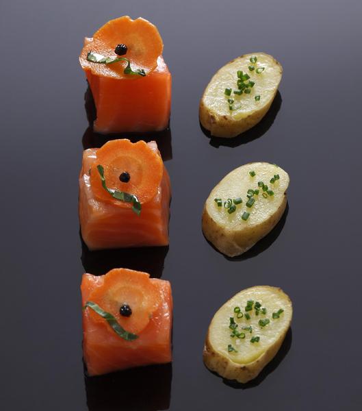 saumon-marine-façon-hareng-recette-aperitif-vigato